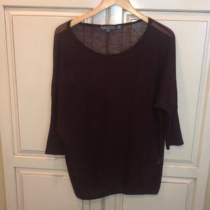 Vince thin wool silk blend sweater